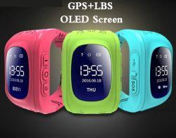 置くOLEDの子供Sosのスマートなモニタリング電話赤ん坊の腕時計を追跡する