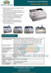 Опасные жидкости инспекционного оборудования для контрабанды жидкость сканирование