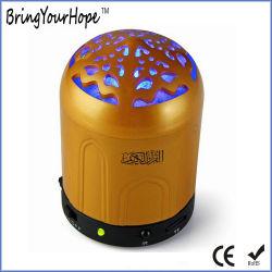 리모트 & LED 빛 (XH-PS-676)를 가진 황금 Quran 선수 스피커