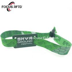 Одноразовые Соткана ткань фестиваль RFID браслет браслет Tyvek браслет для музыки, концерт