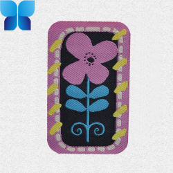 Blumen-Entwurfs-Form gesponnene Kennsätze für Kleid des Mädchens