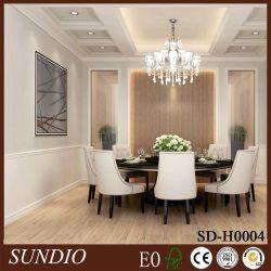 WPC материалов высокого качества для внутренней Clading на стене дома обеденный зал