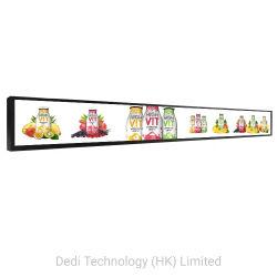 Ultra Brede LCD Signage van de Schermen Digitale LCD van de Staaf van de Rek Vertoning