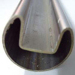 Tubo/tubo dell'acciaio inossidabile 316L 1.4404 di Hl/No. 4 per uso esterno