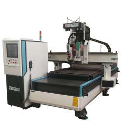Промышленные автоматической смены инструмента ЧПУ маршрутизатора для деревообрабатывающего