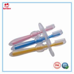 Бисфенол-А силиконовая детской обучение уходу за ребенком зубная щетка