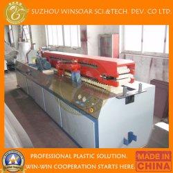 1220mm 플라스틱 압출기 기계 PVC 거품 널 밀어남 생산 라인