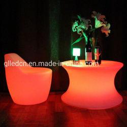 喫茶店の家具のための旧式なLEDの家具LED表LEDの椅子