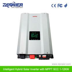12V 24V 48V Gleichstrom zu Wechselstrom 110V 220V weg Sonnenenergie-Inverter der Rasterfeld-vom reinen Sinus-Wellen-60A 6000W