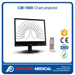 См-1800 высокого качества оборудования в офтальмологии ЖК монитор глаз диаграммы