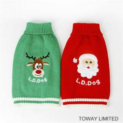 عيد الميلاد الكلب سويترز Kning الحيوانات الأليفة الملابس