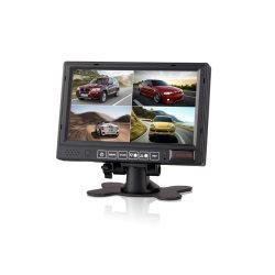 7 pulgadas TFT LCD Monitor de vista trasera del coche de alquiler de copia de seguridad para vehículos grandes