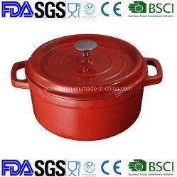 Casserole aus Gusseisen/Bräter/Kochgeschirr aus Gusseisen BSCI, LFGB, FDA