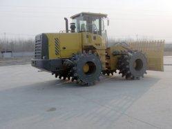 China cuatro ruedas motrices compactadores de relleno de 20 Ton.