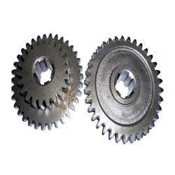 Aço fundido de alta qualidade de ferro fundido da engrenagem helicoidal de Metal