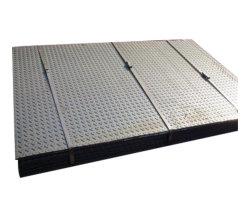 Warm gewalzte Gleitschutzkohlenstoff-Fluss-Stahl-Checkered Chequered Platte des Baumaterial-A36 Ss400 St37 S235jr