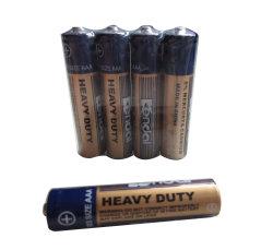 Kohlenstoff-Zink-Batterie R03p AAA des Shrink-4PCS