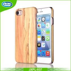Lederner weicher TPU rückseitiger Deckel-Handy-Fall ultra dünne hölzerne Haut PU-für iPhone 7 7 Plus