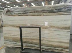 新製品の虹のヒスイの白いオニックス大理石の石
