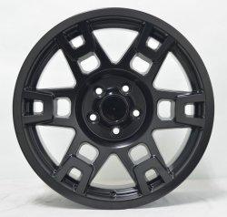 16'', 17'' по послепродажному обслуживанию для легкосплавного колесного диска в черном цвете с машины