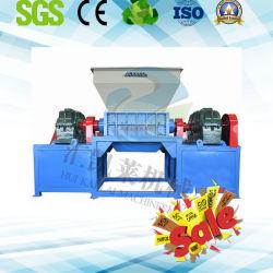 De tweeling Ontvezelmachine van de Schacht voor de Plastic Ontvezelmachine van het Metaal