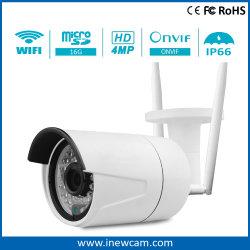 L'enregistrement de détection de mouvement 4MP P2P Caméra IP sans fil WT 16G carte SD