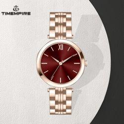 Fabrico OEM Dom Moda Swiss Senhora relógio de pulso personalizados (71409)