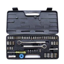 """52pcs conjunto de herramientas de mano profesional 1/4 y 3/8 y 1/2"""" de una unidad de combinación hueca"""