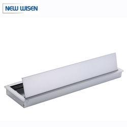 Casella di alluminio di Mangagement del collegare del cavo della Tabella di congresso del coperchio da tavolino del foro del calcolatore