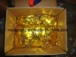 Papier coloré/ 5 * Pièce en aluminium anodisé de 2 cm