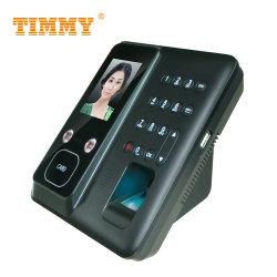 نظام حضور الوجه والبصمة تعريف RFID الحضور باستخدام بطارية احتياطية