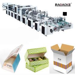 280m/min haute vitesse Coin Boîte en carton de quatre à six Boîte en carton ondulé Dossier Gluer (GK-SLJ)