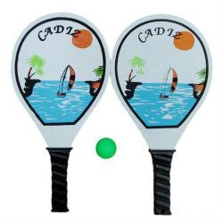 Venda a quente na moda praia raquete de tênis de mesa
