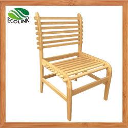 ホームホテルのレストランのための木のタケ食事の家具のタケ伸縮性がある椅子