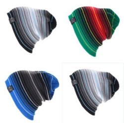 Настраиваемые моды цветные полоски Beanie
