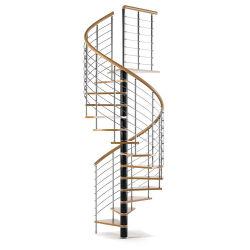 Fiáveis e boa piscina escada em espiral Banheira de vender o metal escada em espiral Piscina escada em espiral para venda
