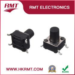 Interruptor de botón interruptor de tacto microinterruptor para PCB (TS-1102S)