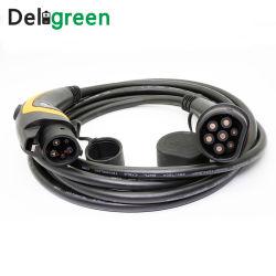 Euro Series 16A 250V Tipo de cable de carga de 1 a 2 Tipo de espacio para estacionar
