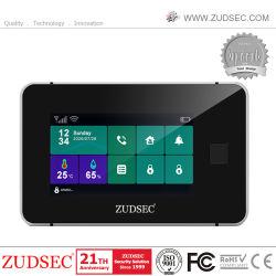 2021 novíssimo Anti-Thief Impressões Digitais Wireless WiFi/GSM Intruder Home Security do sistema de alarme de intrusão com câmara IP