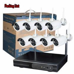 Sécurité sans fil 1.3MP Outdoor Kits de caméra IP caméra WiFi avec de gros systèmes complets