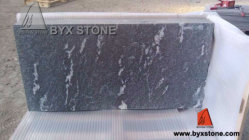 Nero Branco Black Granite Bathroom Tile pour Floor et Wall