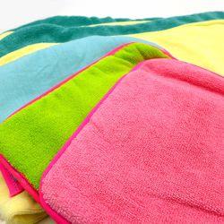 Commerce de gros de lavage en microfibres mitt gants de chenille