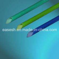 La fibra de vidrio recubierto con cable trenzado de fundas de silicona