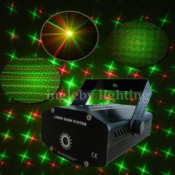 Rg мини-лазерного освещения сцены с Strobo Flash эффекты