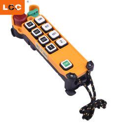 F24-8s 8 boutons Single-Step palan électrique grue Télécommande telecrane