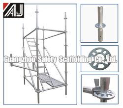 Sistema d'acciaio dell'armatura galvanizzato fabbricazione di Guangzhou Ringlock per il progetto della costruzione di edifici