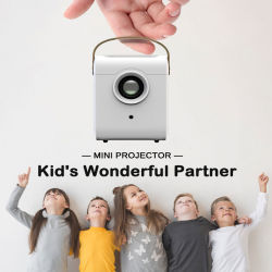Proiettore domestico del video HD LED di multimedia del teatro dell'affissione a cristalli liquidi del migliore Portable astuto mini