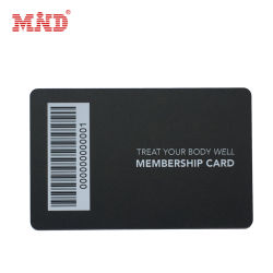 Kundenspezifische erstklassige Belüftung-Barcode-Geschenk-Karte