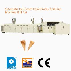 De automatische Machine van de Lopende band van de Kegel van het Roomijs (Cb-61)
