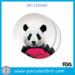 Placa cerâmica Panda nobre por grosso
